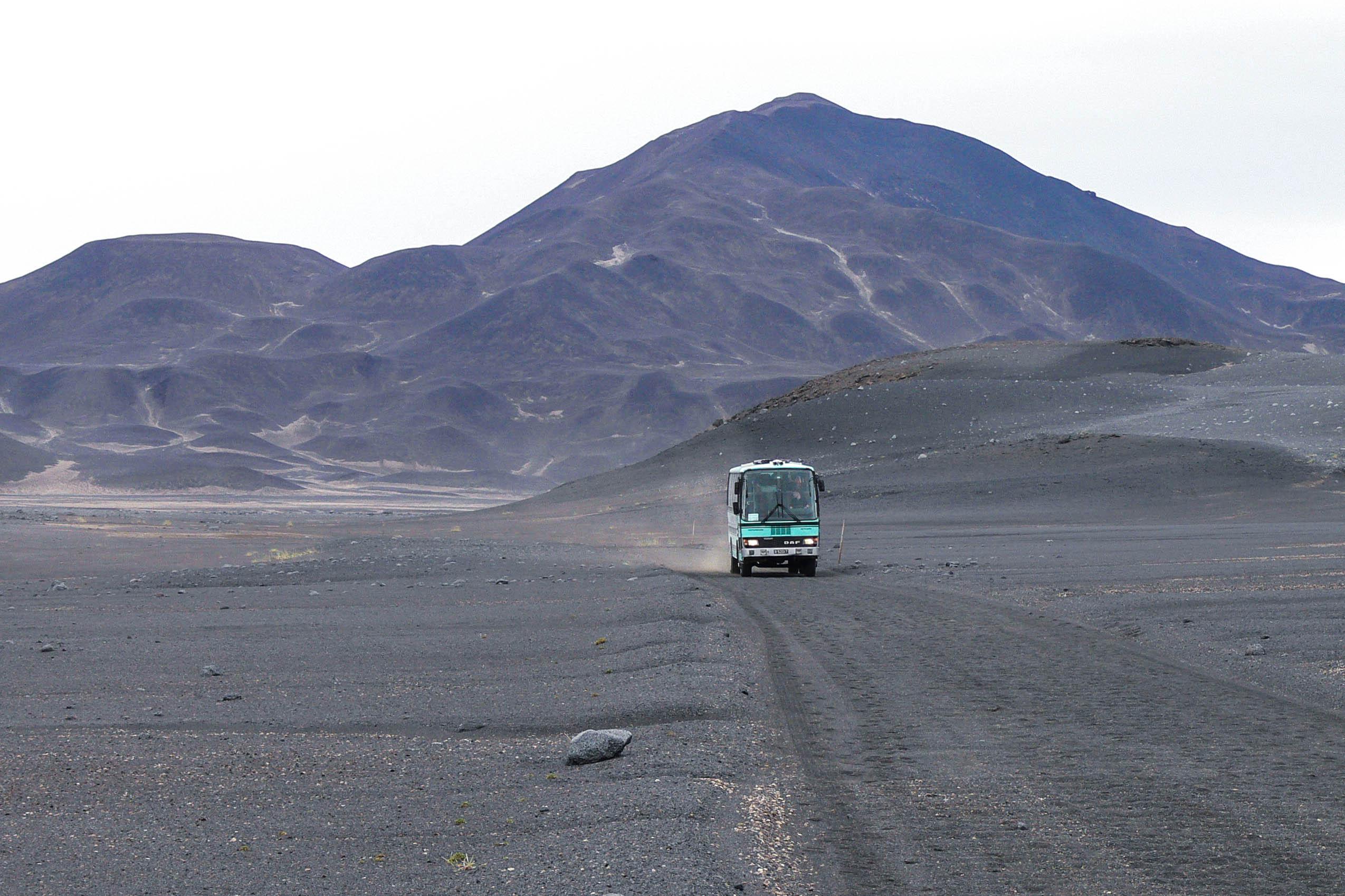 Mit dem Offroad-Bus durch das Hochland von Island