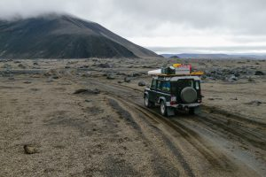 Im Hochland von Island