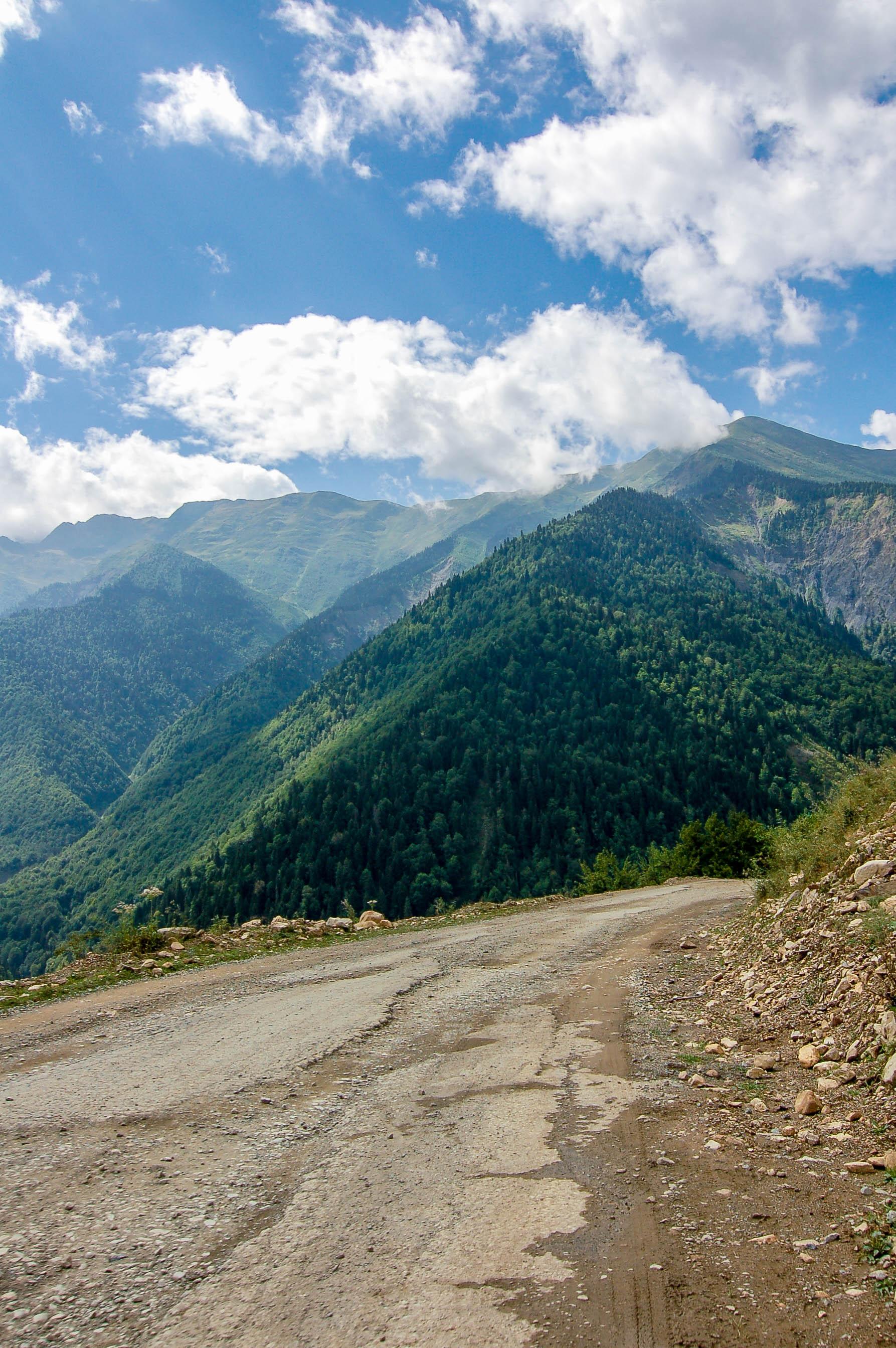 Straße nach Mestia