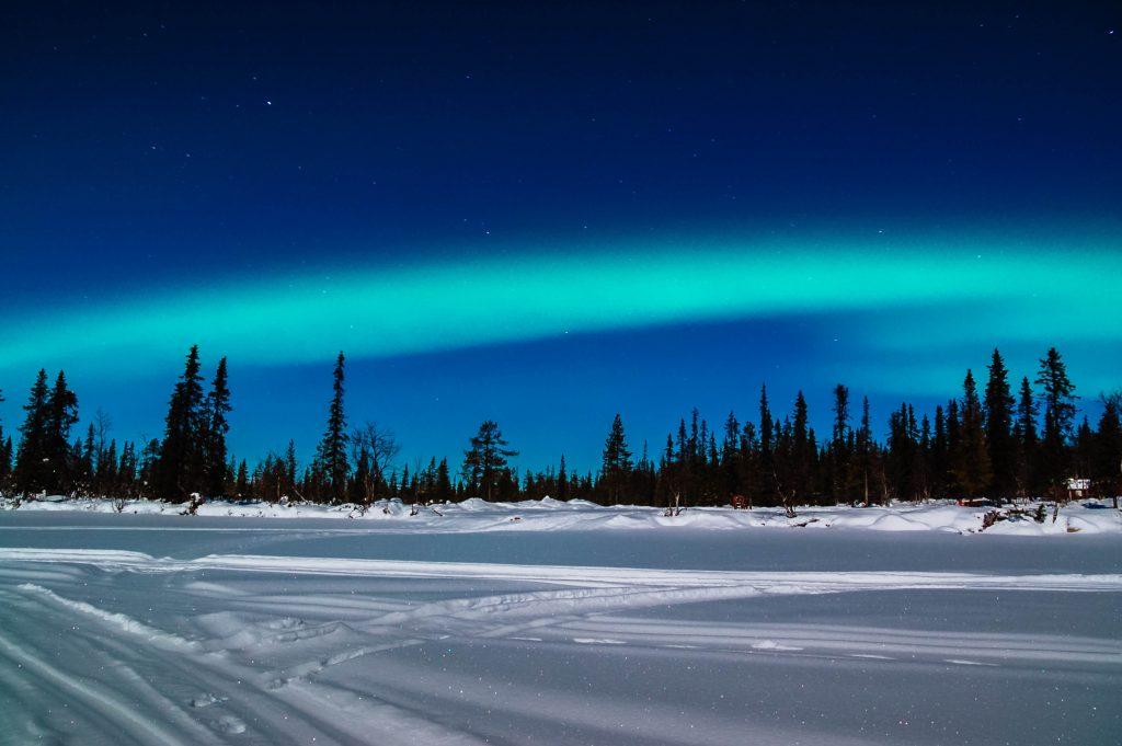 Aurora Borealis bei Kiruna