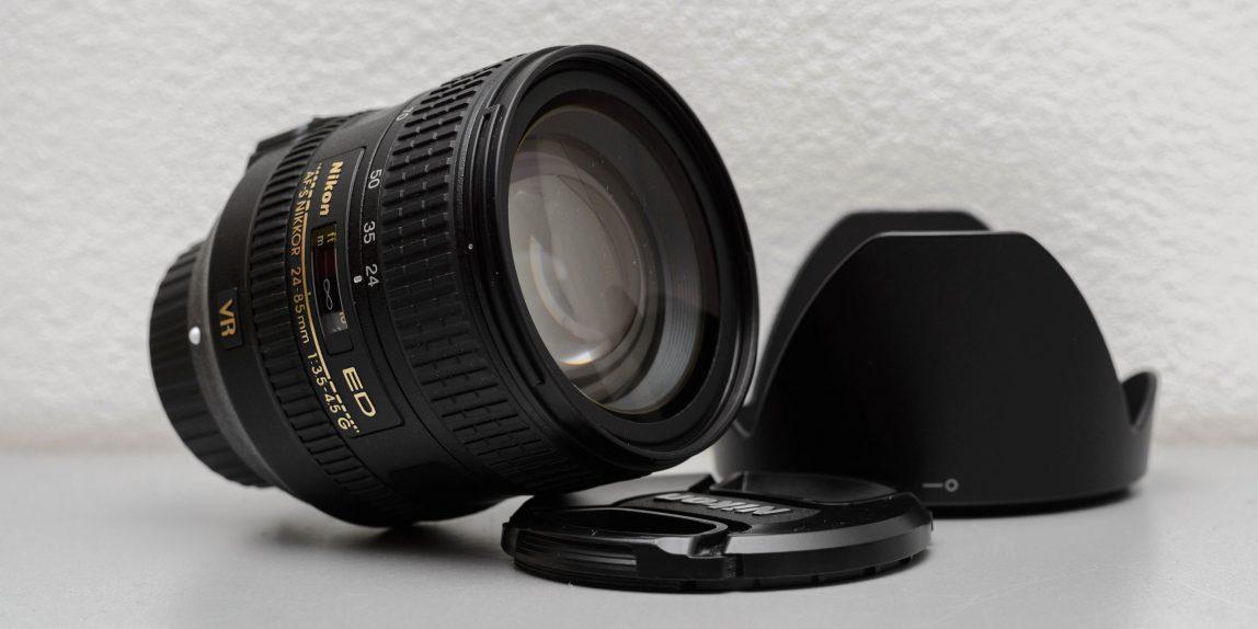 Nikon AF-S Nikkor 24-85mm f/3.5-4.5 G ED VR