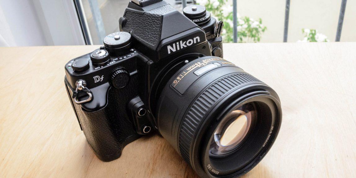 Nikon Df mit Nikon AF-S Nikkor 85mm f/1.8 G