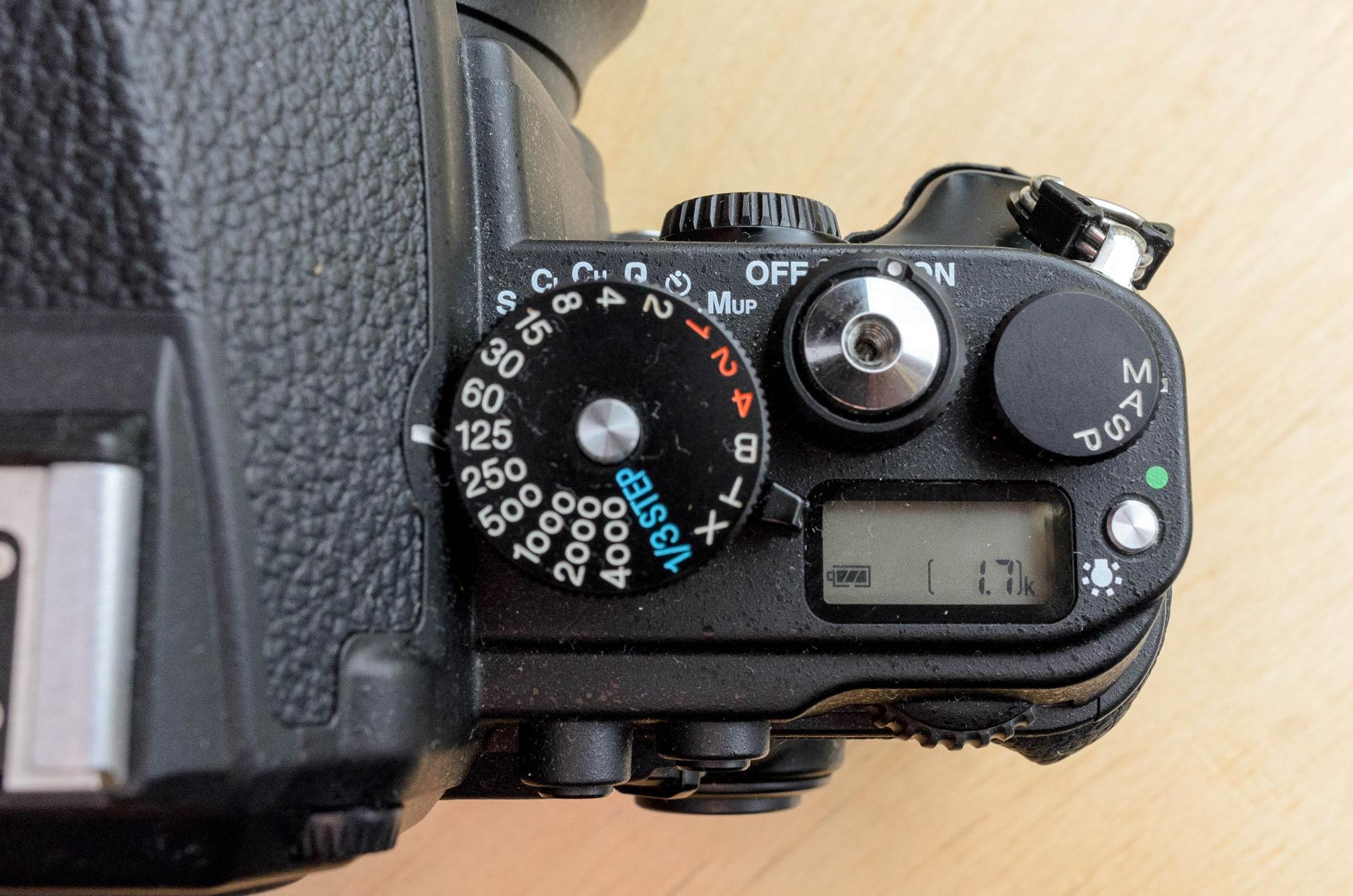 Nikon Df Oberseite