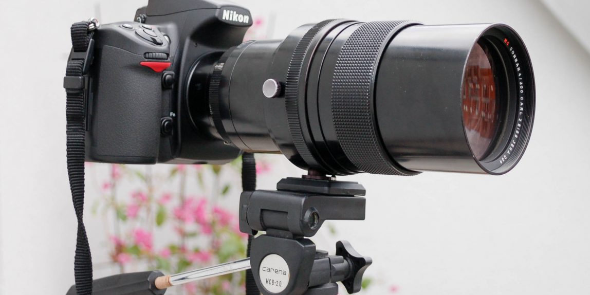 Nikon D700 mit Carl Zeiss Jena Sonnar 4/300