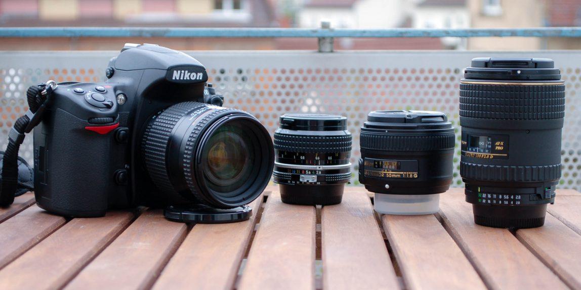 28-105mm gegen 28mm, 50mm und 100mm