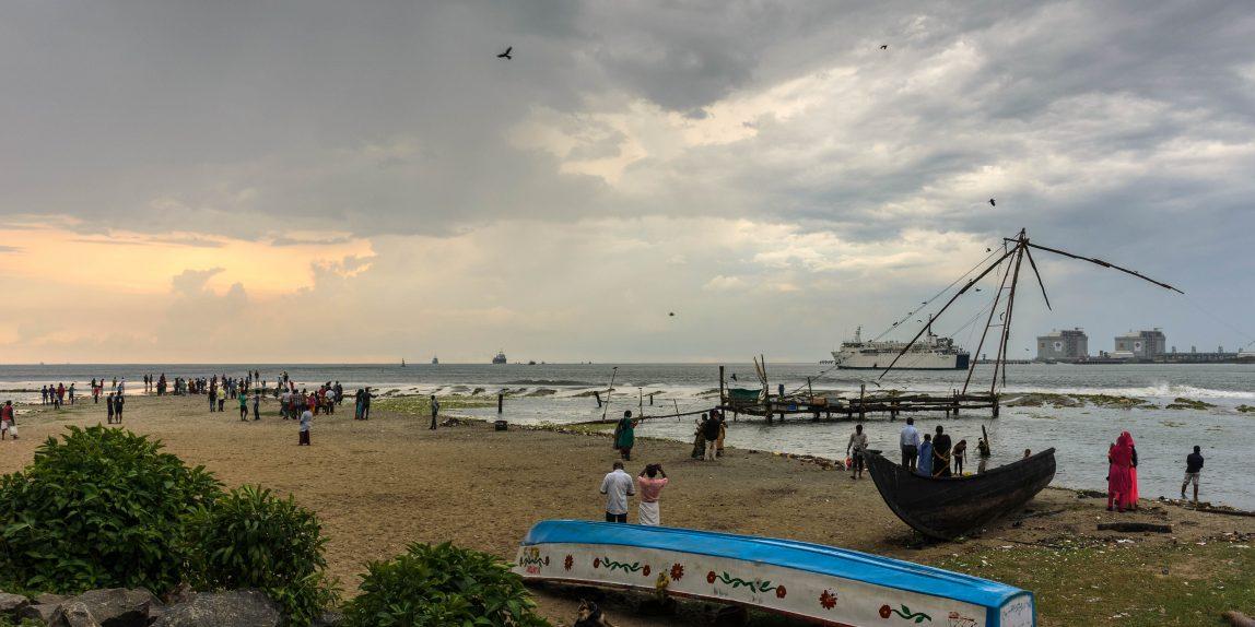 Kerala - am Strand von Kochi