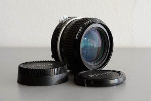 Manuelle Nikon-Objektive