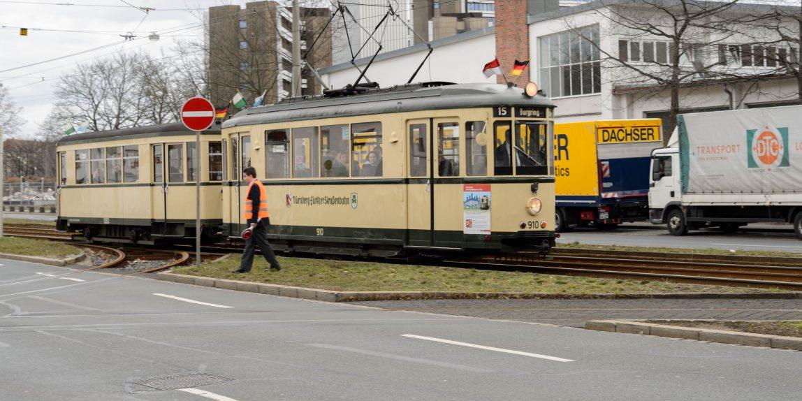 """Historische Straßenbahnlinie 15 """"Burgring"""""""