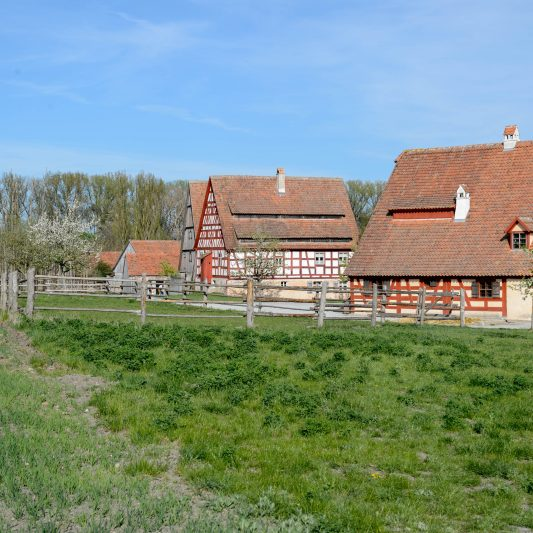 Das Fränkische Freilandmuseum in Bad Windsheim