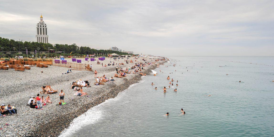Strand von Batumi