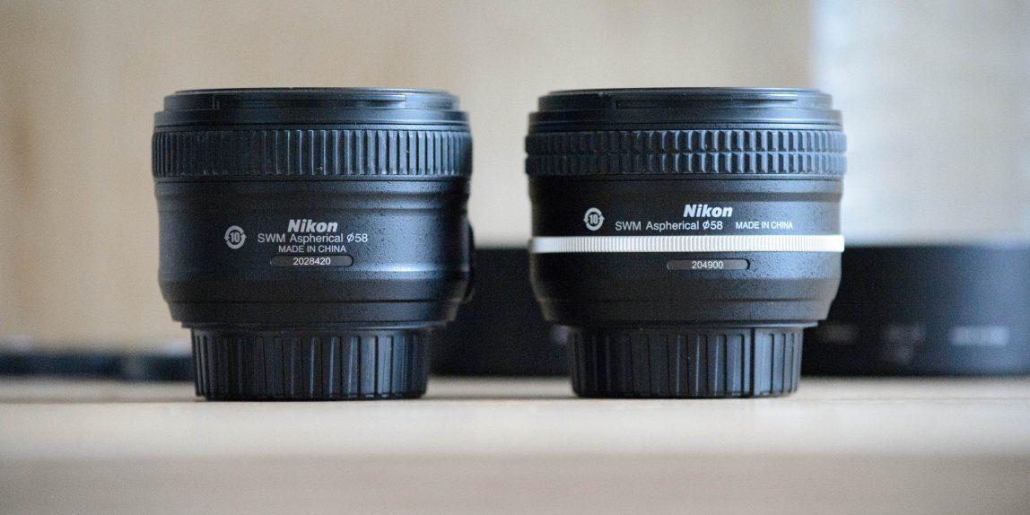 Nikon AF-S Nikkor 50mm f/1.8 G SE