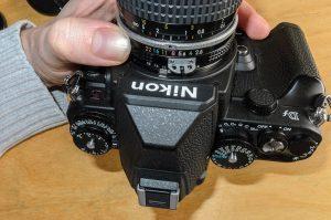 Manuelle Nikon AI oder AIS Objektive an digitaler Spiegelreflexkamera