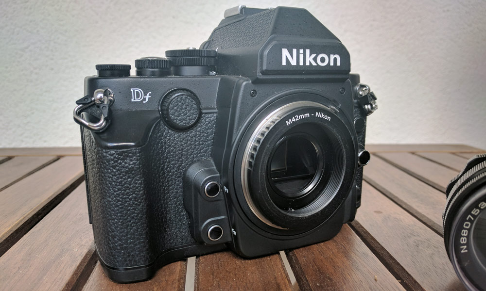 Wecellent Adapter M42 auf Nikon F