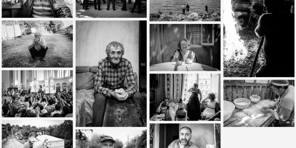 Menschen im Kaukasus