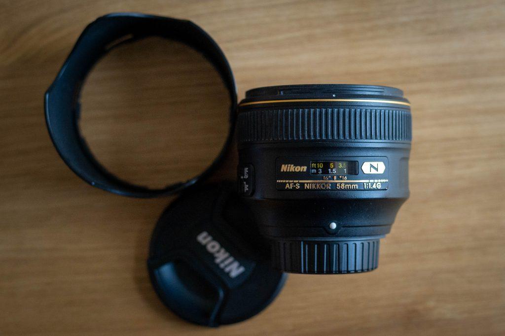 Nikon AF-S Nikkor 58mm 1.4 G
