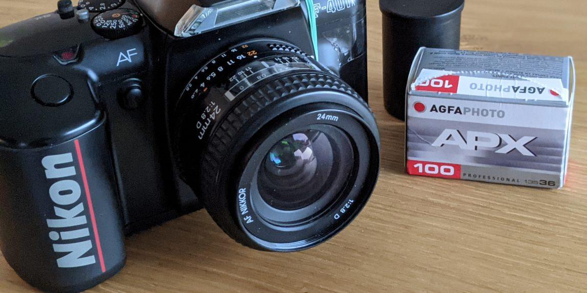 Agfa APX100 für meine Nikon F-401x